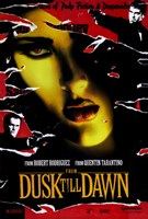 From Dusk Till Dawn Salma Hayek Fine Art Print