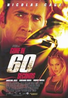 Gone in 60 Seconds Wall Poster