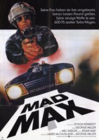 Mad Max Car Wall Poster