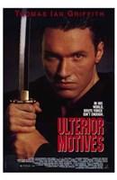 """Ulterior Motives - 11"""" x 17"""" - $15.49"""