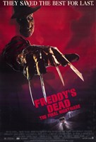 Freddy's Dead Final Nightmare Freddy Krueger Framed Print