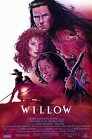 Willow - characters Wall Poster
