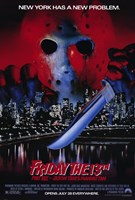 Friday the 13Th Part 8 Jason Takes Manha Wall Poster