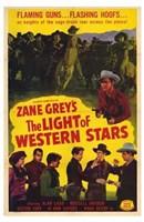 "Light of Western Stars - 11"" x 17"""