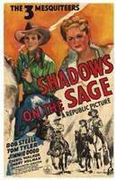 "Shadows on the Sage - 11"" x 17"" - $15.49"