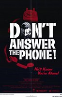 """Don't Answer the Phone - 11"""" x 17"""" - $15.49"""
