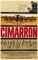 "Cimarron With Glenn Ford - 11"" x 17"", FulcrumGallery.com brand"