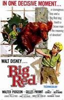 "Big Red - 11"" x 17"", FulcrumGallery.com brand"