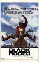 "Black Rodeo - 11"" x 17"" - $15.49"