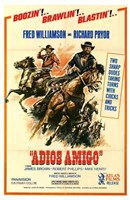 "Adios Amigo - on horses - 11"" x 17"""