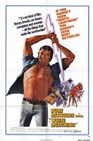 """White Lightning Burt Reynolds - 11"""" x 17"""""""