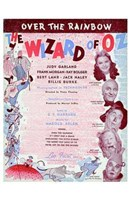 The Wizard of Oz Over the Rainbow Fine Art Print