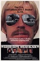 "Good Guys Wear Black - 11"" x 17"" - $15.49"