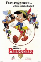 Pinocchio Wall Poster