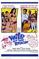 "Wild on the Beach - 11"" x 17"""