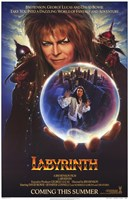 Labyrinth - crystal ball Fine Art Print