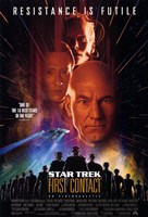 Star Trek: First Contact Fine Art Print