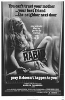 """Rabid Marilyn Chambers - 11"""" x 17"""""""