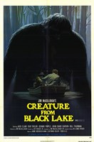 """Creature from Black Lake - 11"""" x 17"""""""