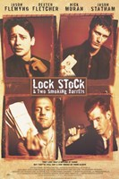 "Lock Stock and 2 Smoking Barrels Main Characters - 11"" x 17"""