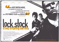 "Lock Stock and 2 Smoking Barrels British Film - 17"" x 11"""