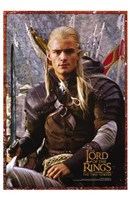 Lord of the Rings: the Two Towers Legolas Screen Shot Fine Art Print