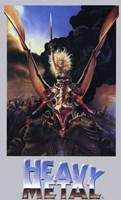 "Heavy Metal Movie - 11"" x 17"""