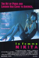 "La Femme Nikita - Blue - 11"" x 17"""