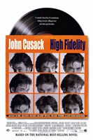 High Fidelity John Cusack Wall Poster