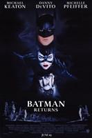 Batman Returns Cast Wall Poster