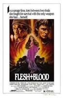 "Flesh and Blood - 11"" x 17"" - $15.49"