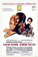 "Doctor Zhivago - A love caught in the fire of revolution - 11"" x 17"""