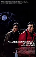 American Werewolf in London Framed Print