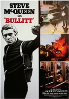 Bullitt Scenes Wall Poster