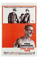 Cool Hand Luke Carrying Him Fine Art Print