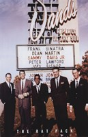 Rat Pack Framed Print