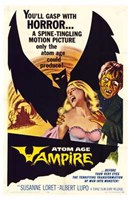 "Atom Age Vampire - 11"" x 17"" - $15.49"