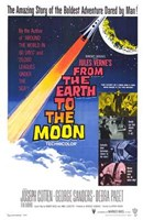 """from the Earth to the Moon - 11"""" x 17"""""""