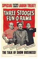"Three Stooges Fun-O-Rama - 11"" x 17"", FulcrumGallery.com brand"