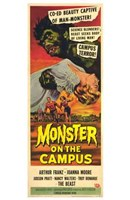 "Monster on the Campus - 11"" x 17"""