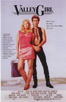 Valley Girl Wall Poster