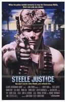 """Steele Justice - 11"""" x 17"""""""
