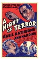 "A Night of Terror - 11"" x 17"""