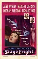 Stage Fright Jane Wyman Wall Poster