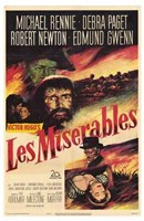 Les Miserables Michael Rennie Wall Poster
