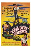 "The Bandits of Corsica - 11"" x 17"""