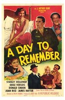 """A Day to Remember - Movie Poster - 11"""" x 17"""""""