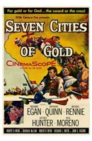 """Seven Cities of Gold - 11"""" x 17"""""""