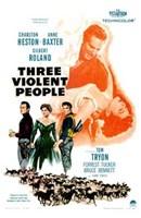 "Three Violent People - 11"" x 17"" - $15.49"