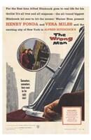 """The Wrong Man Car - 11"""" x 17"""""""
